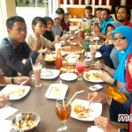 Acara Gathering di Pizza Hut Sudirman Jogja