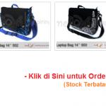 Tas Laptop Batik Gaul Limited Edition - Sambut Tahun Baru 2012