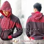 Jaket Batik Parang Merah (DF-0703)