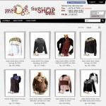 ScreenShot halaman Katalog Jaket Batik