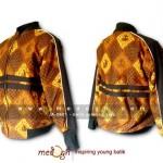Jaket Batik JA-0601 dengan motif sidomukti ceplok truntum