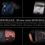 All New Series Batik bag