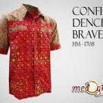 kemeja batik confidence brave
