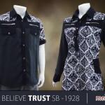 Sarimbit Batik New! Believe Trust SB-1928