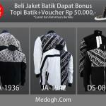 Beli Jaket Batik Gratis Topi Batik