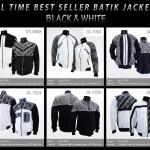 Best Seller Jaket Batik Hitam Putih